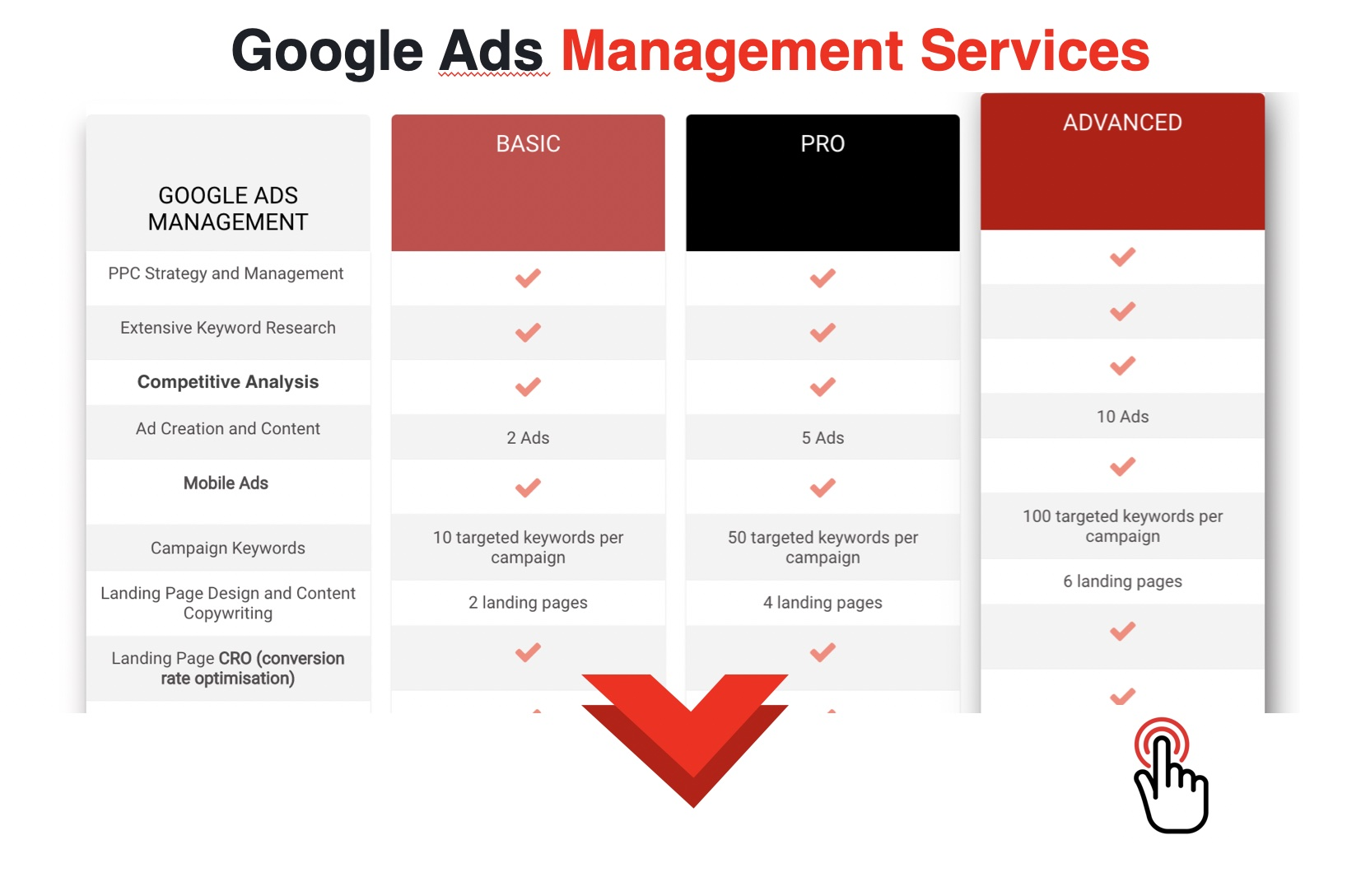 Google Ads Management Services Professional Certified Agency
