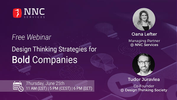 NNC Services  Design Thinking webinar