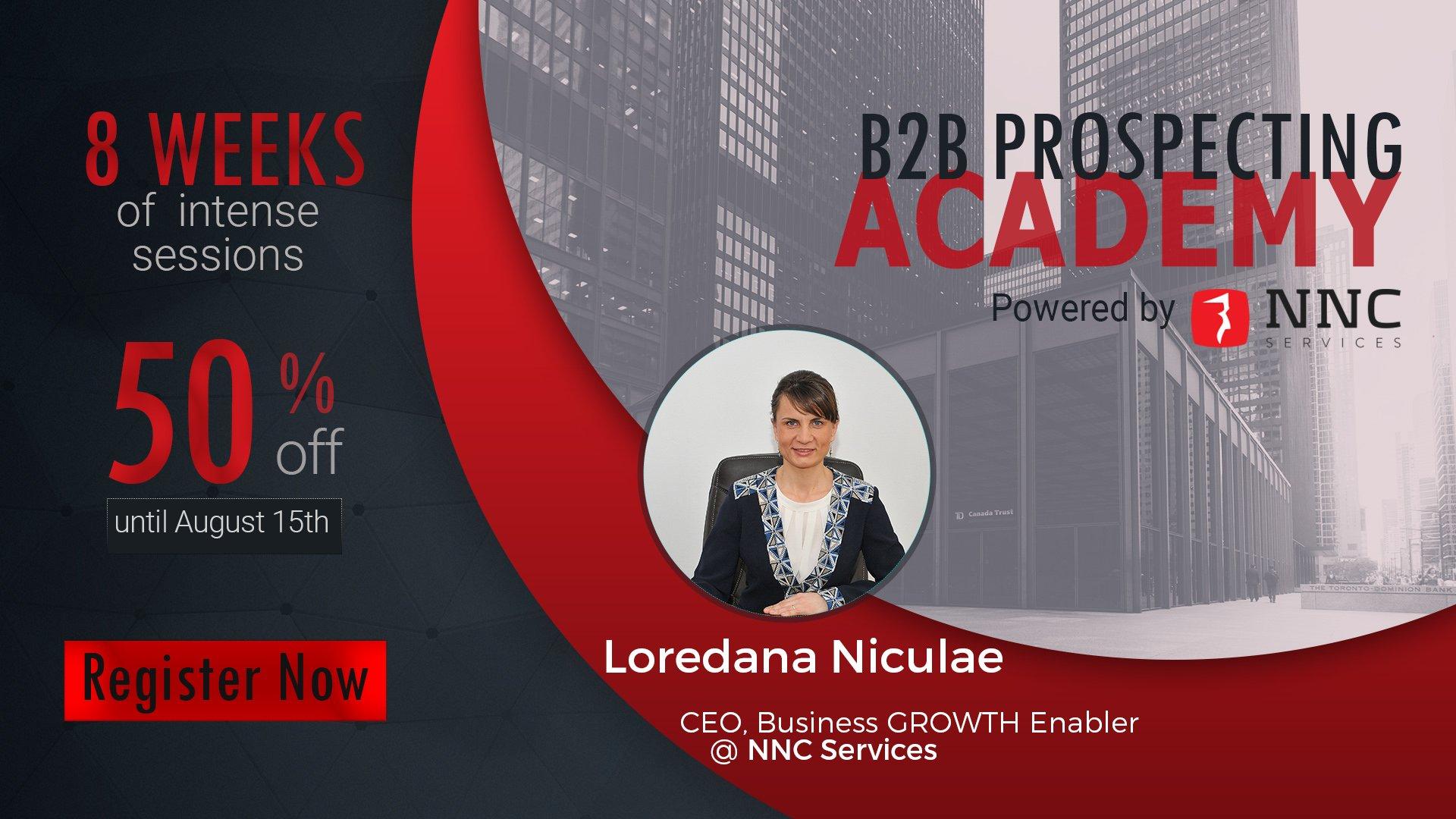 b2b prospecting academy