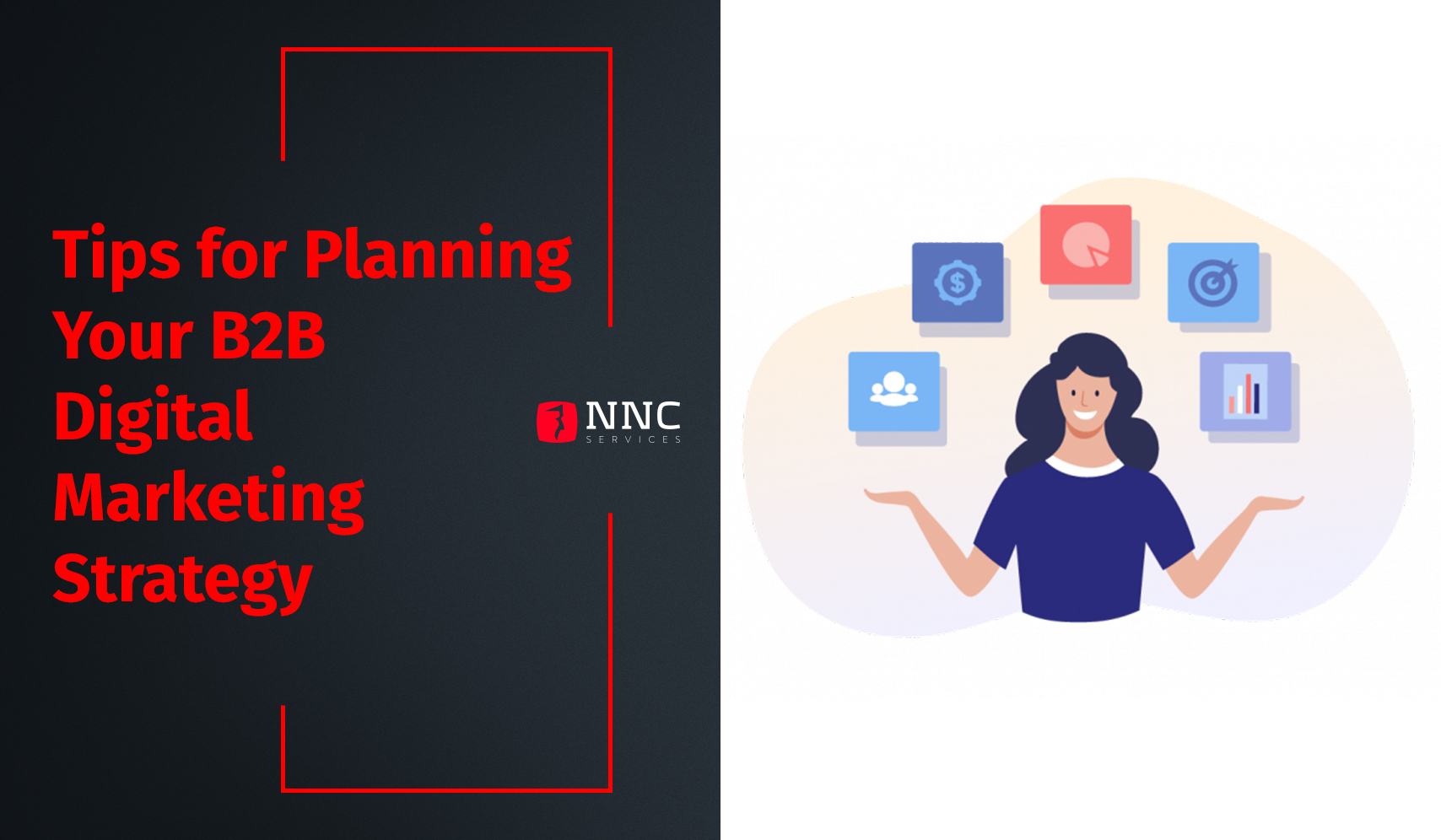 digital marketing planning for a scaling up B2B software outsourcing company